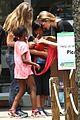 angelina jolie brad pitt visit the zoo with all six kids 47