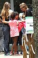angelina jolie brad pitt visit the zoo with all six kids 48