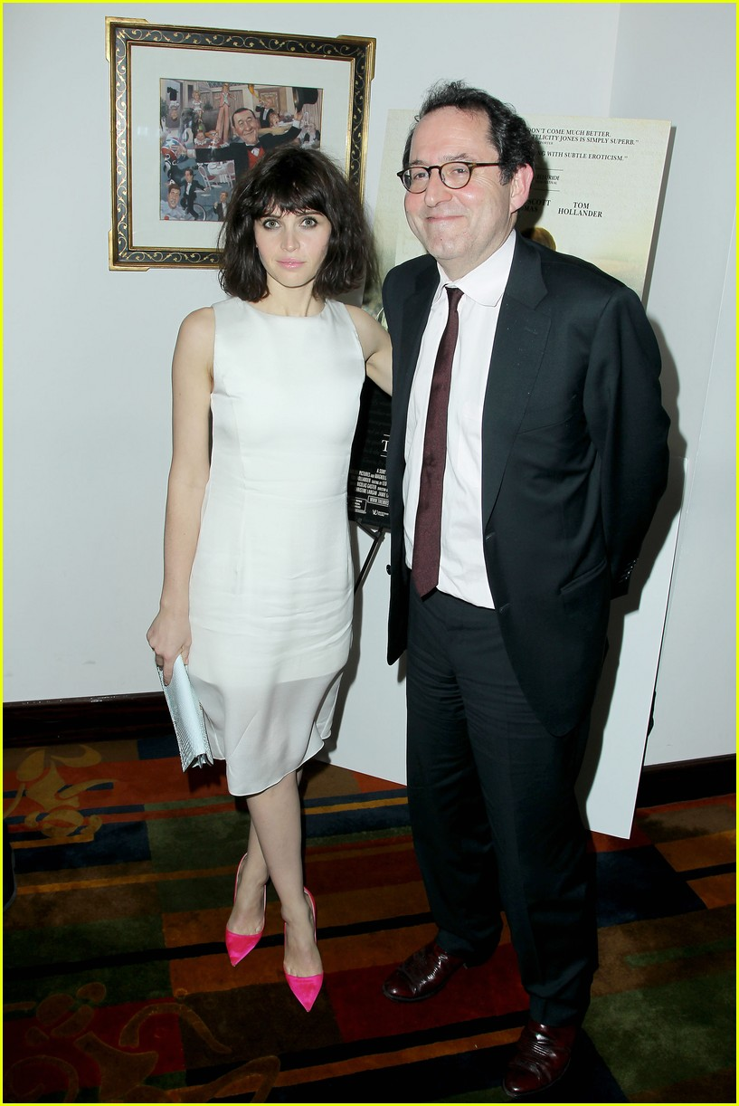 felicity jones ralph fiennes invisible woman nyc screening 173008814