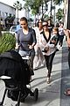 kim kourtney kardashian get lunch with their daughters 22