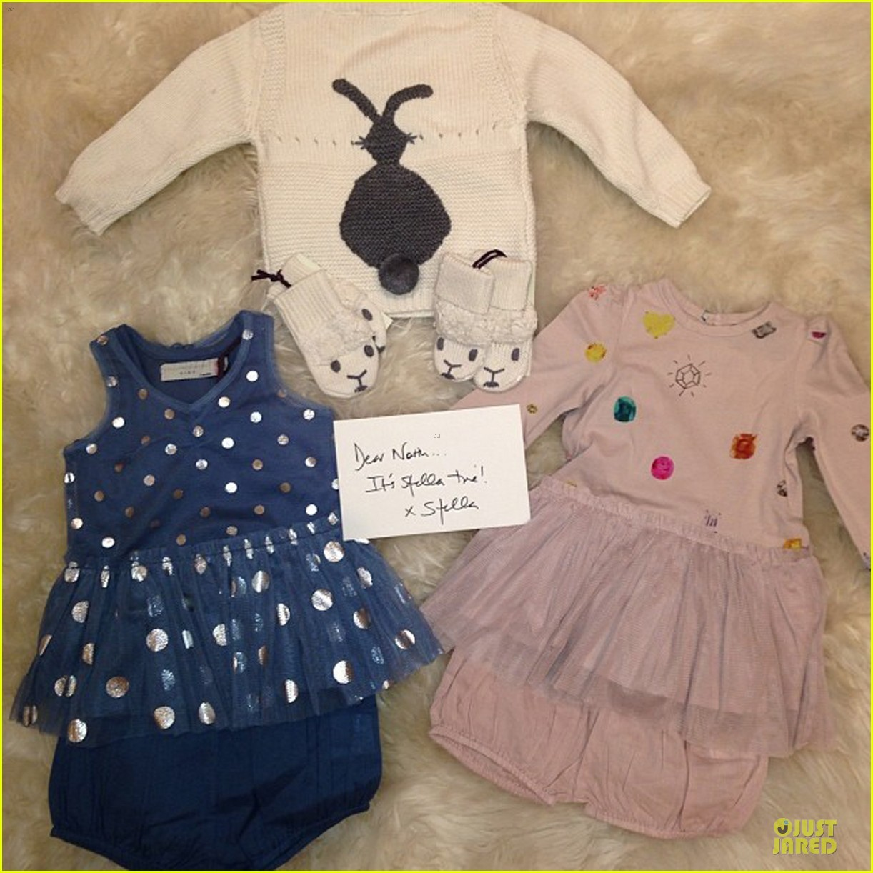 kim kardashian shows off north west designer christmas gifts 03