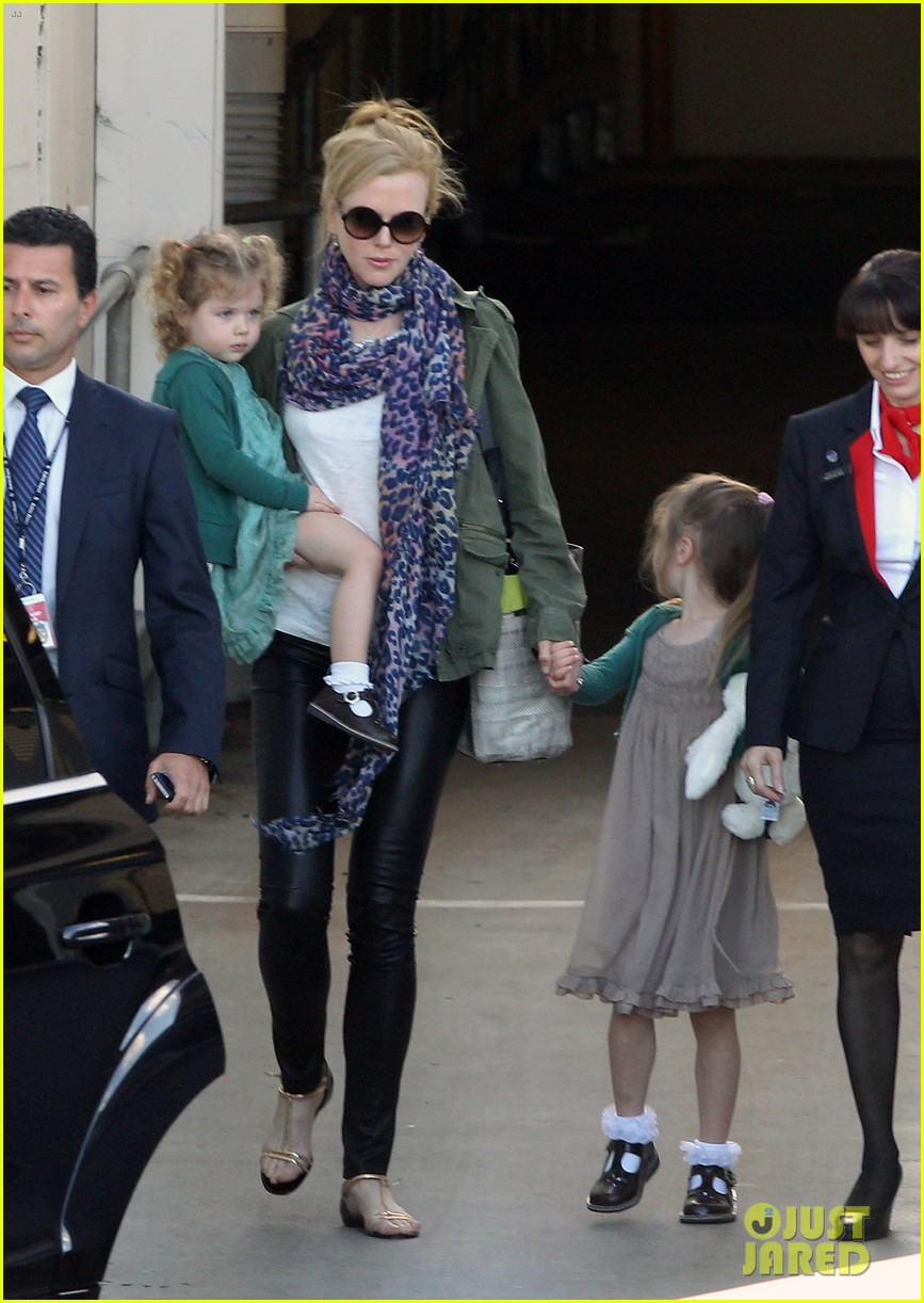 nicole kidman australia arrival with faith sunday 173014411