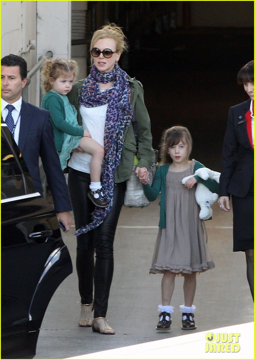 nicole kidman australia arrival with faith sunday 223014416