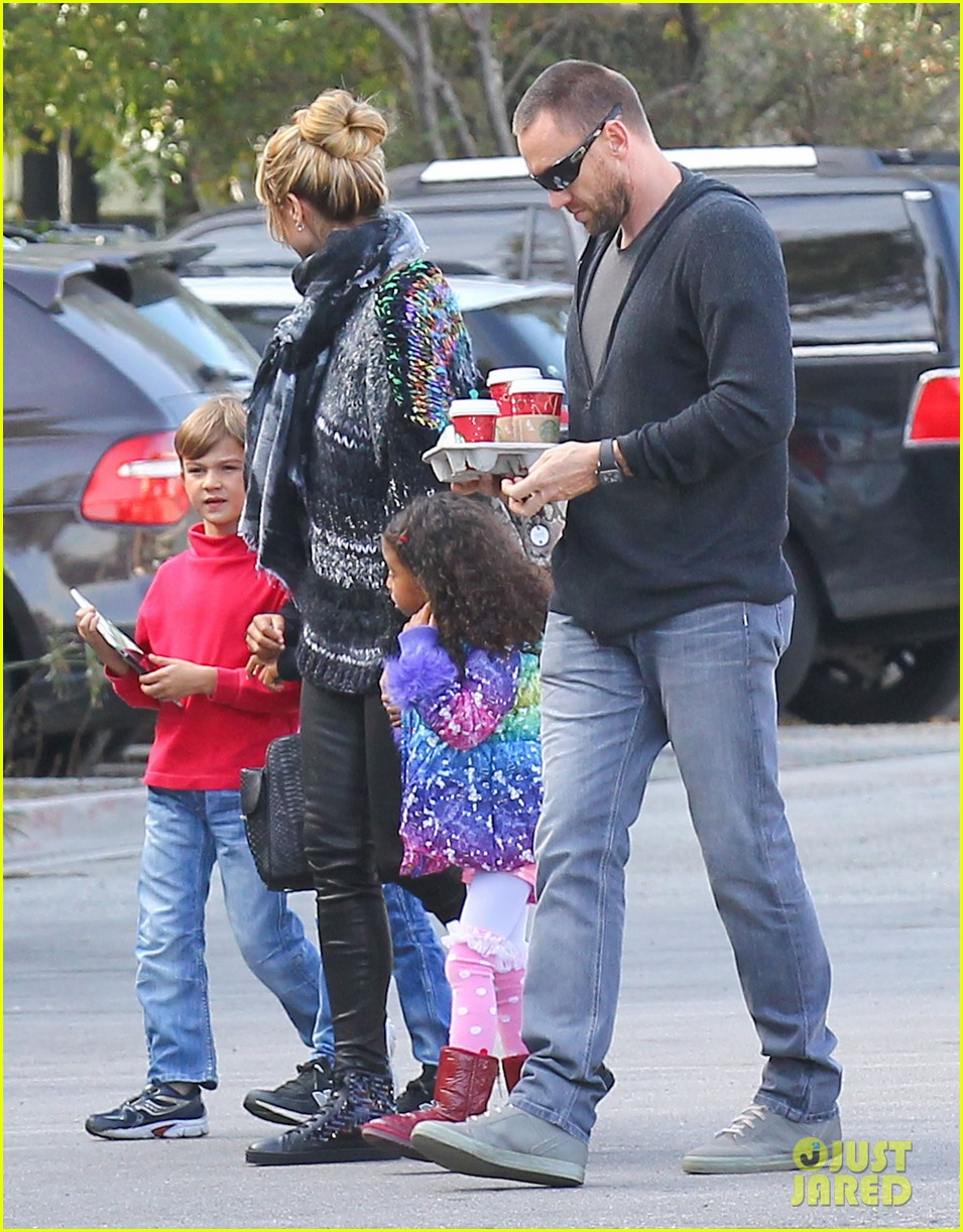 heidi klum spends weekend with her daughters 05