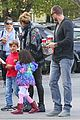 heidi klum spends weekend with her daughters 11