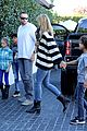 heidi klum post thanksgiving lunch with the kids 10