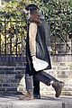 keira knightley james righton hold each other during winter walk 26