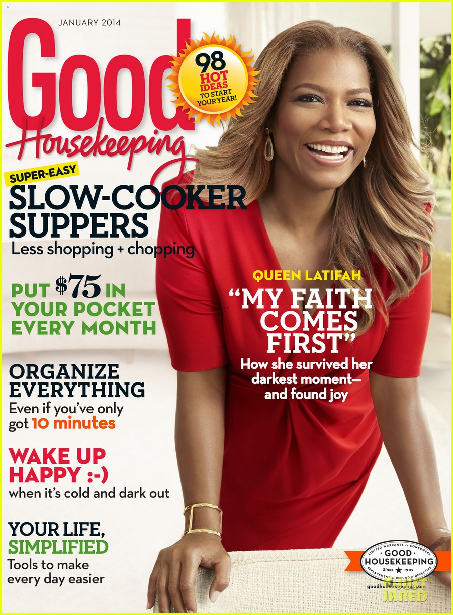 queen latifah covers good housekeeping magazine january 2014 013011811