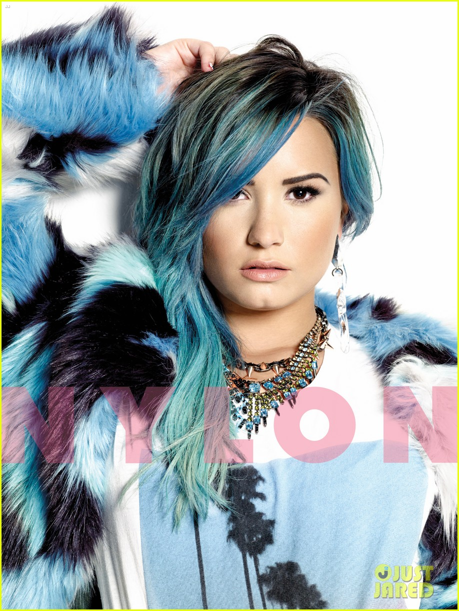 demi lovato nylon dec jan mag 03