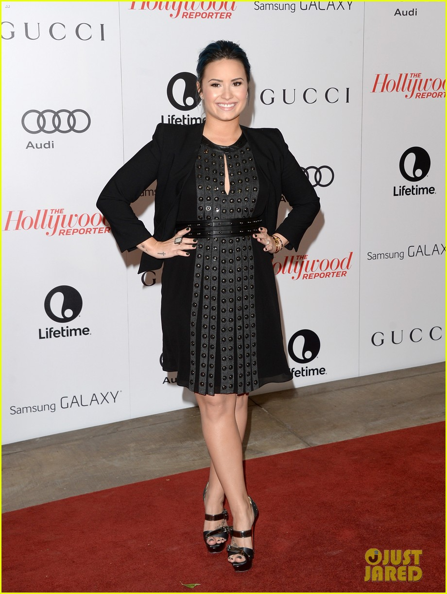 demi lovato naya rivera thr breakfast babes 113009955
