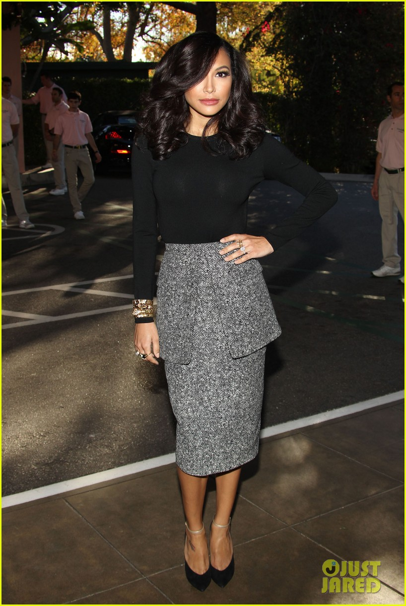 demi lovato naya rivera thr breakfast babes 163009960