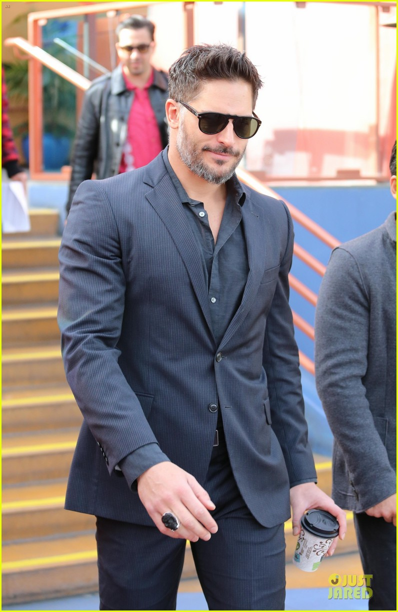 joe manganiello evolution promo on extra appearance 023013272