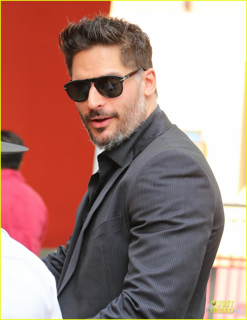 joe manganiello evolution promo on extra appearance 073013277