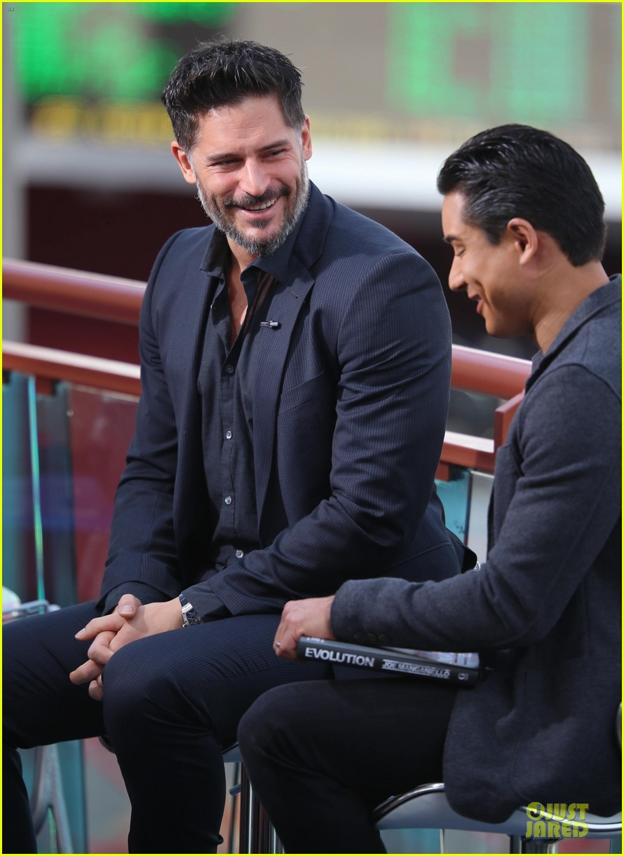 joe manganiello evolution promo on extra appearance 11