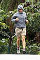 matthew mcconaughey braves the rain for a run in brazil 06
