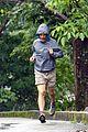 matthew mcconaughey braves the rain for a run in brazil 14