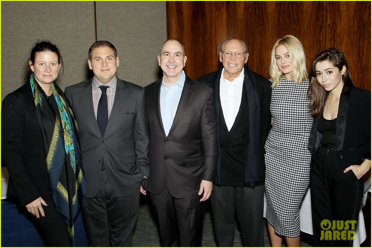 matthew mcconaughey wolf of wall street luncheon with margot robbie 153014581