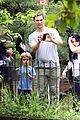 matthew mcconaughey family zoo trip in brazil 07