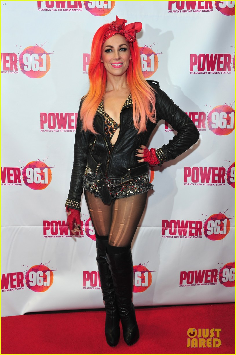 bonnie mckee austin mahone power 96 1s jingle ball 2013 173010522