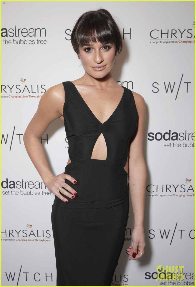 lea michele naya rivera switch boutique holiday party 15