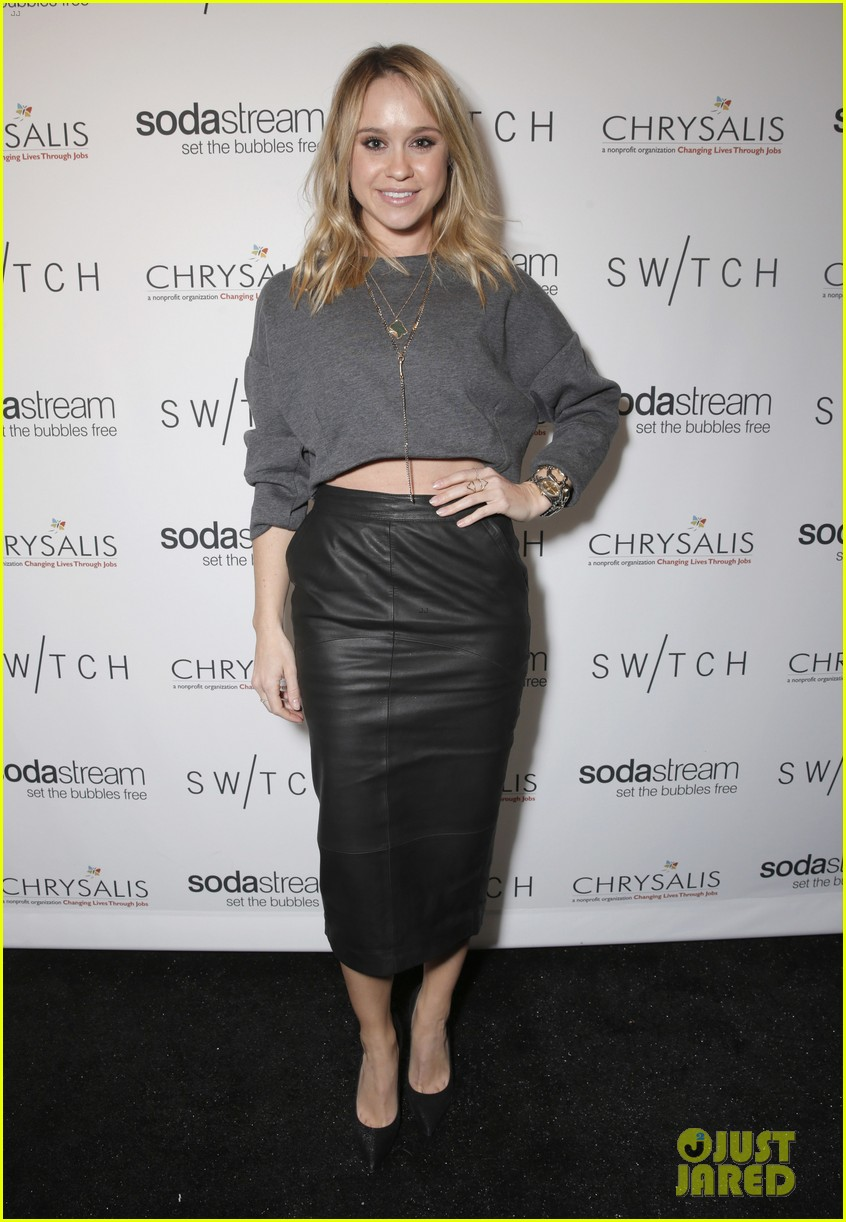 lea michele naya rivera switch boutique holiday party 22