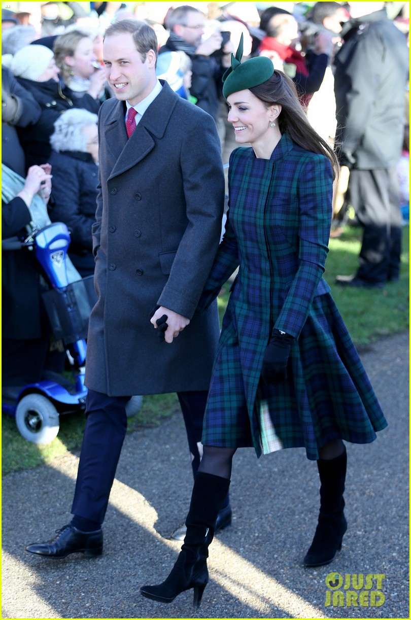 kate middleton prince william christmas day service with prince harry 01