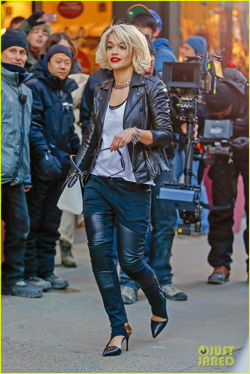 rita ora dkny fashion shoot in nyc 11