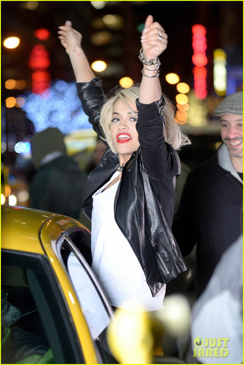 rita ora dkny fashion shoot in nyc 15