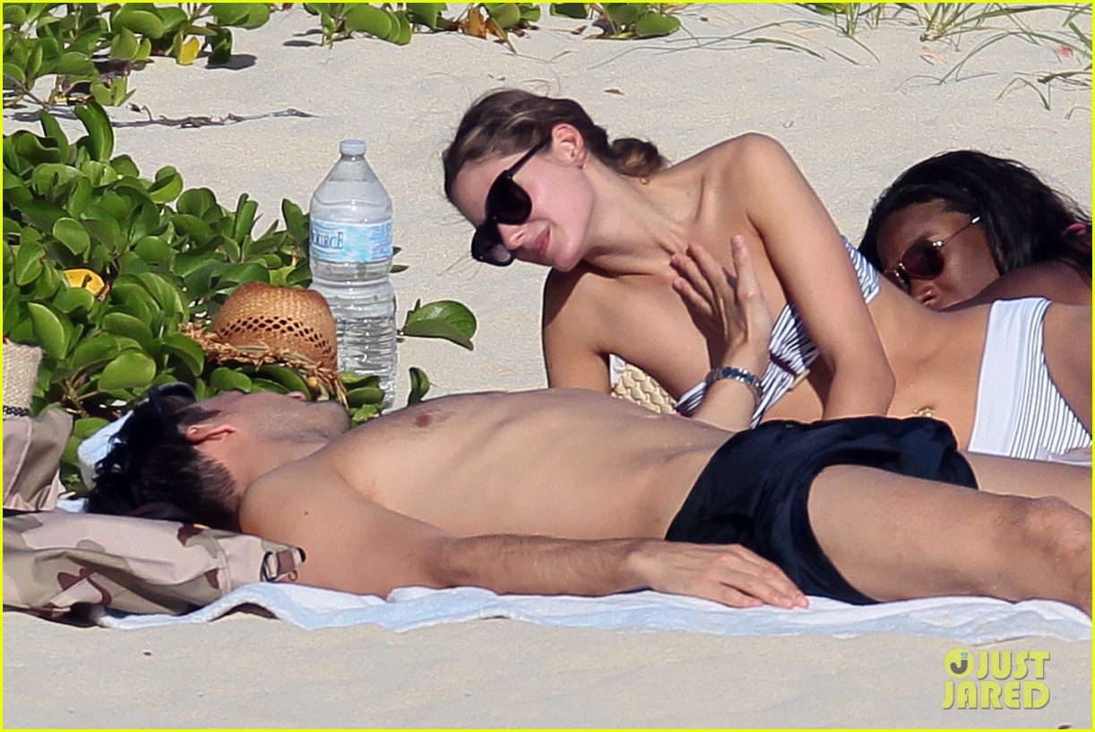 olivia palermo johannes huebl st barts beach vacation 17