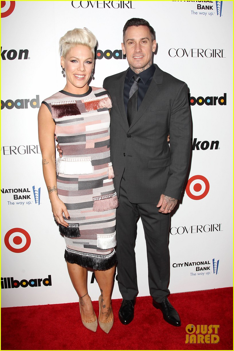 pink billboard women in music event with carey hart 013009176