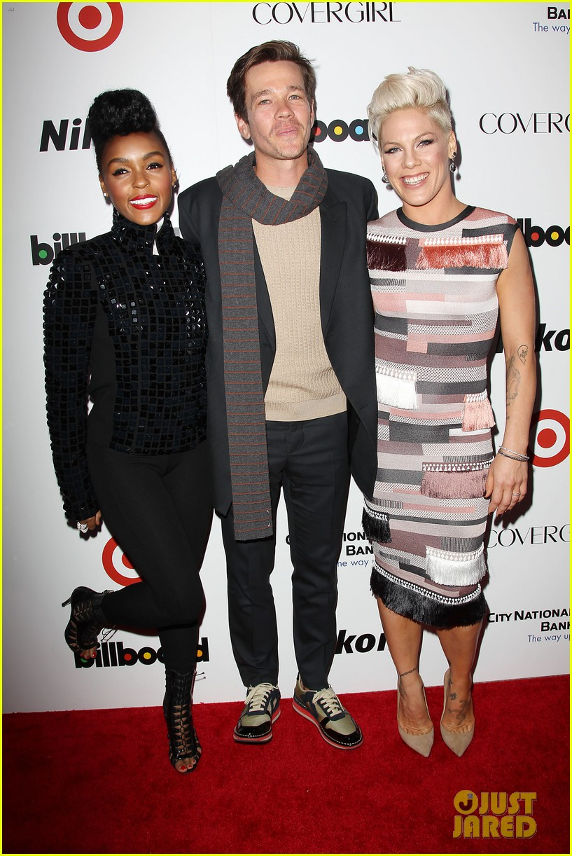 pink billboard women in music event with carey hart 143009189