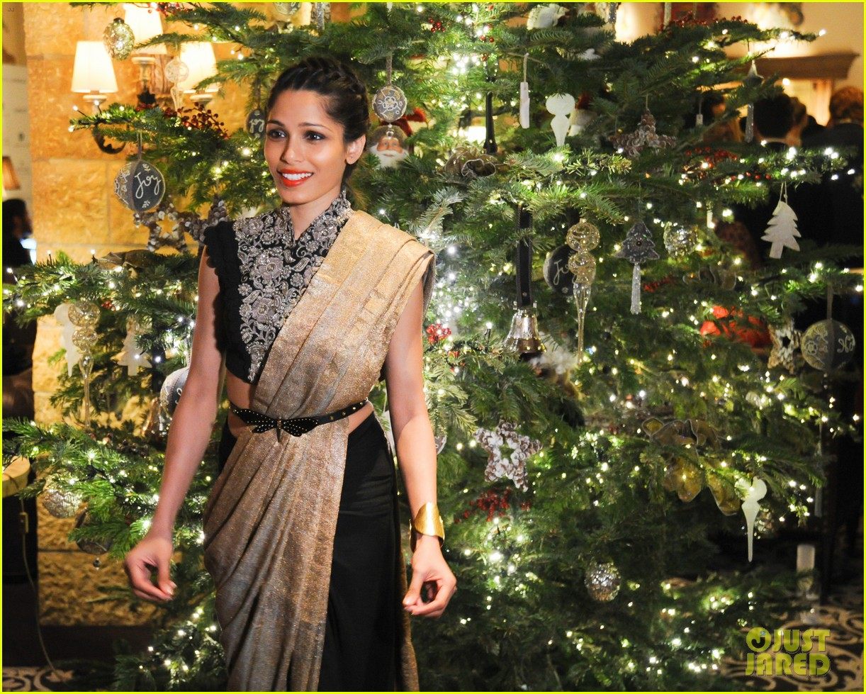 freida pinto asmallworld winter weekend in switzerland 293013095