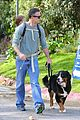 freddie prinze jr walks the dog with son rocky 08