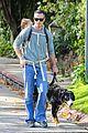 freddie prinze jr walks the dog with son rocky 15