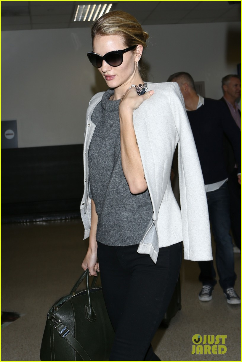 rosie huntington whiteley back in la after bfa 15