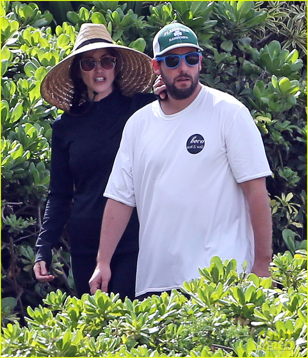 adam sandler wife jackie spend quality time in hawaii 02