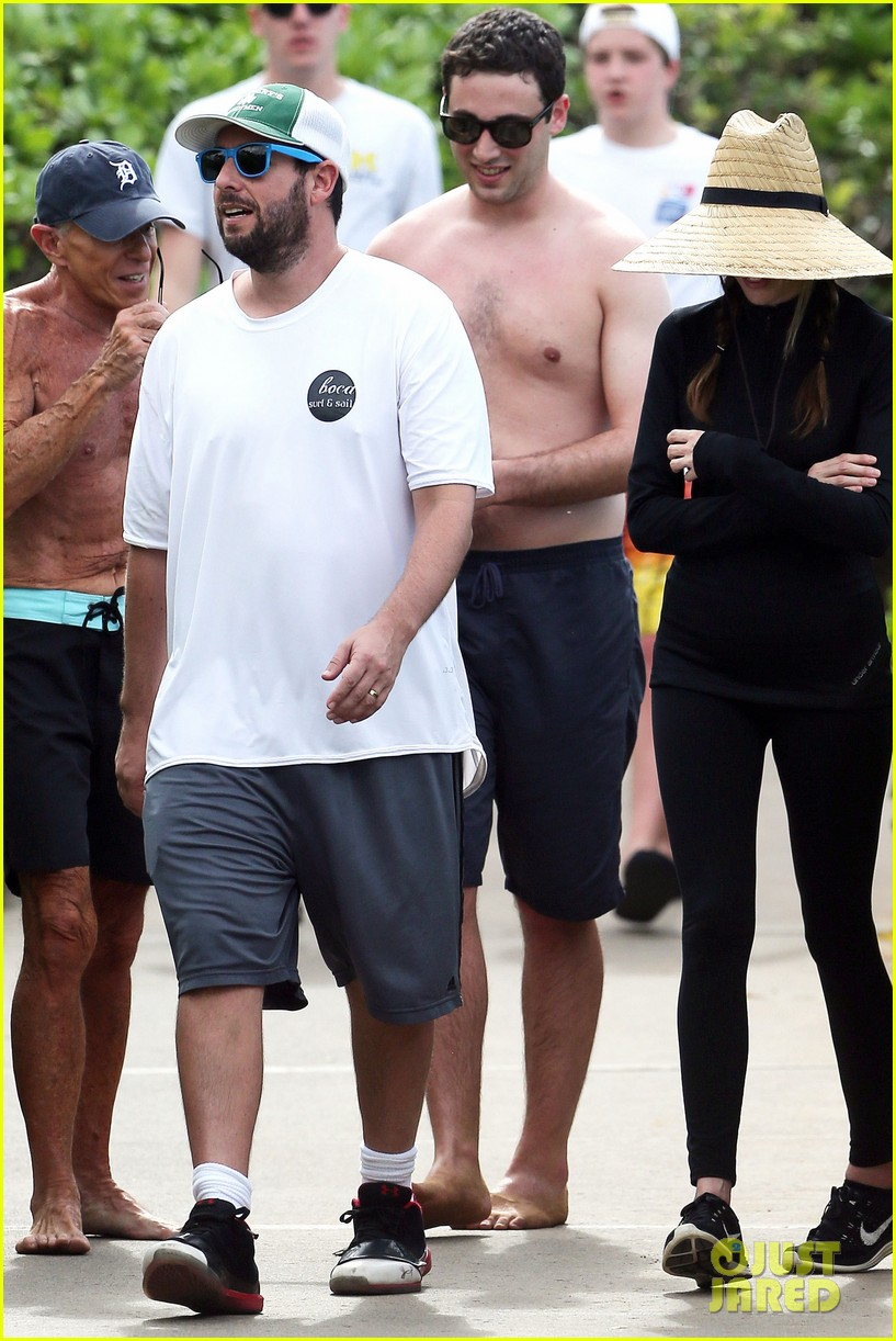 adam sandler wife jackie spend quality time in hawaii 03