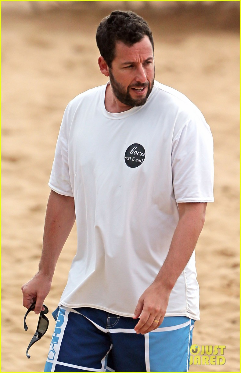 adam sandler spends relaxing beach day with wife jackie 043020372