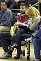 shakira courtside at barcelona basketball game 01