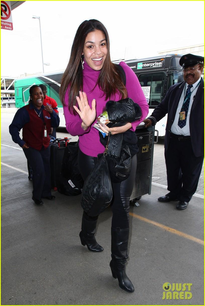 jordin sparks jennifer hudson idol ladies at lax airport 173014721