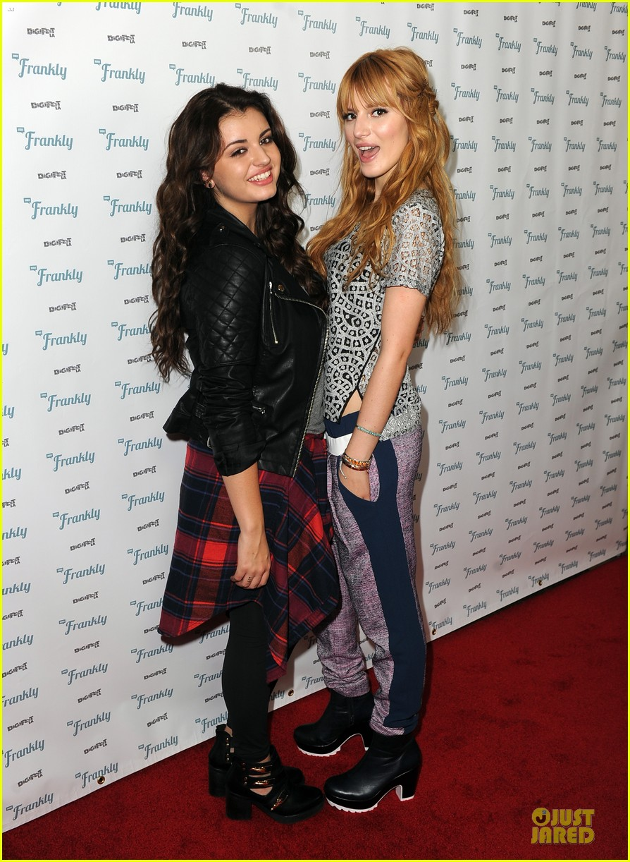 bella thorne digifest la with noah cyrus 113012735