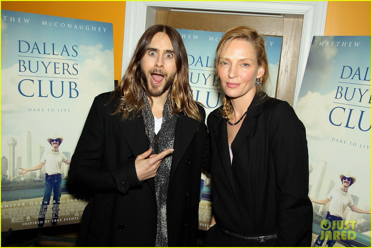 uma thurman jared let dallas buyers club nyc screening 023004805