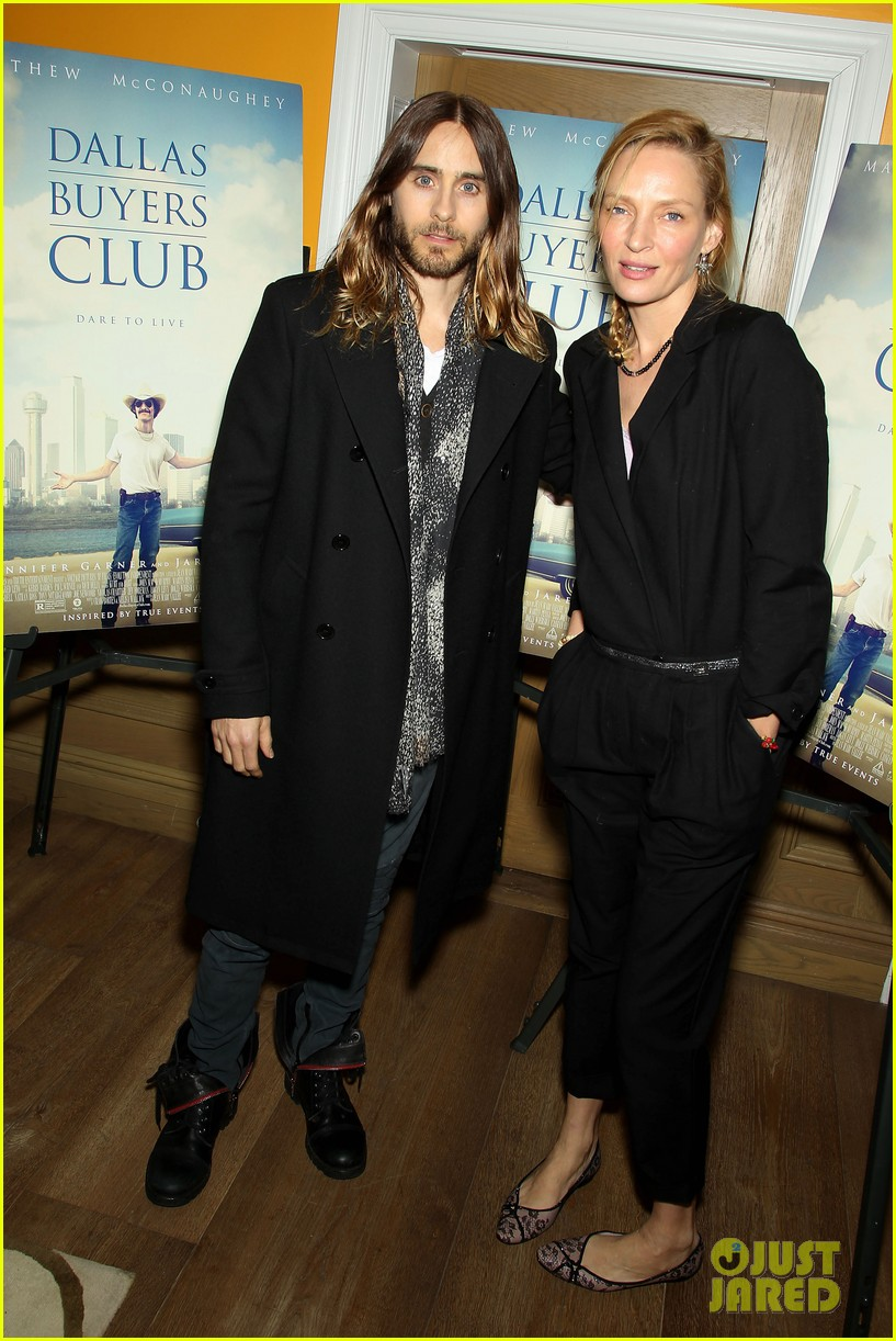 uma thurman jared let dallas buyers club nyc screening 053004808