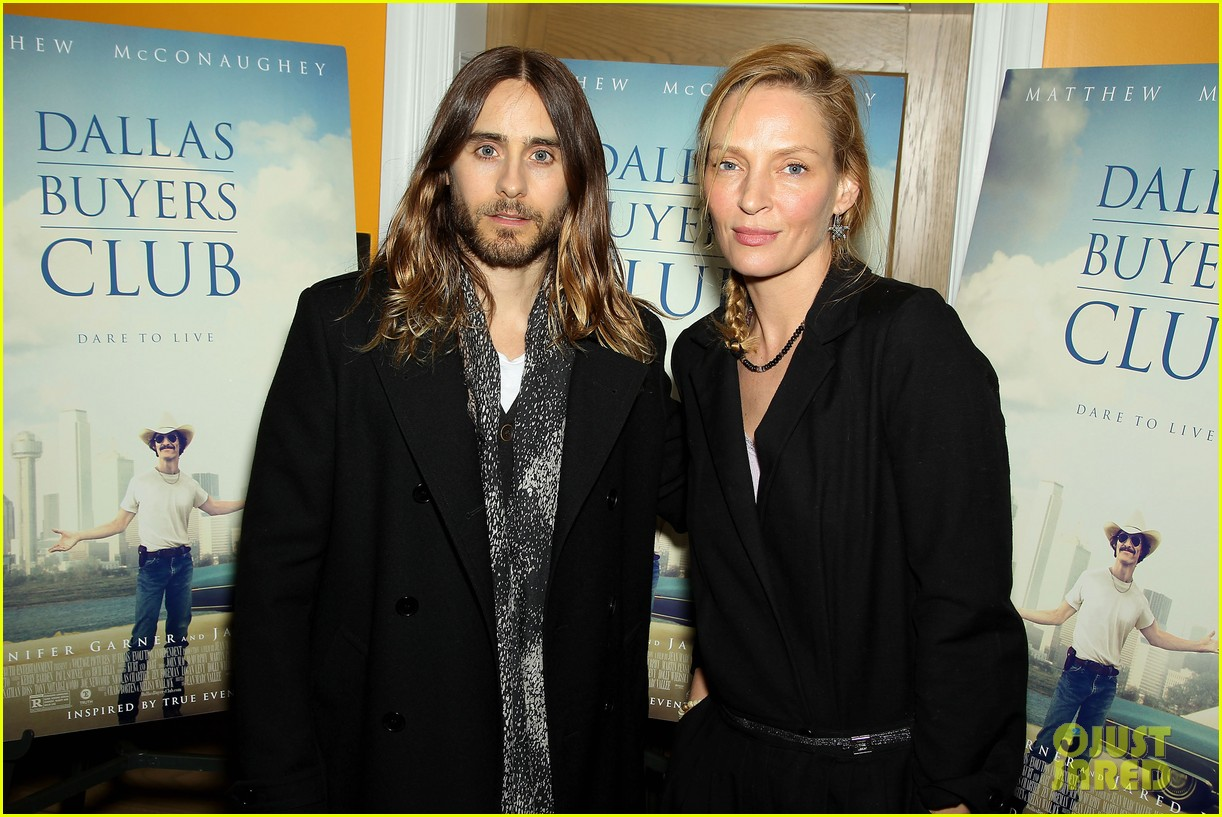 uma thurman jared let dallas buyers club nyc screening 093004812