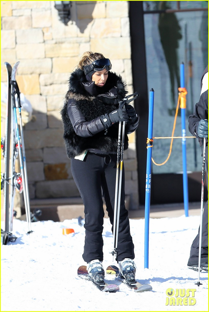 kanye west wears full face mask for skiing with kim kardashian 08