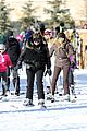 kanye west wears full face mask for skiing with kim kardashian 23