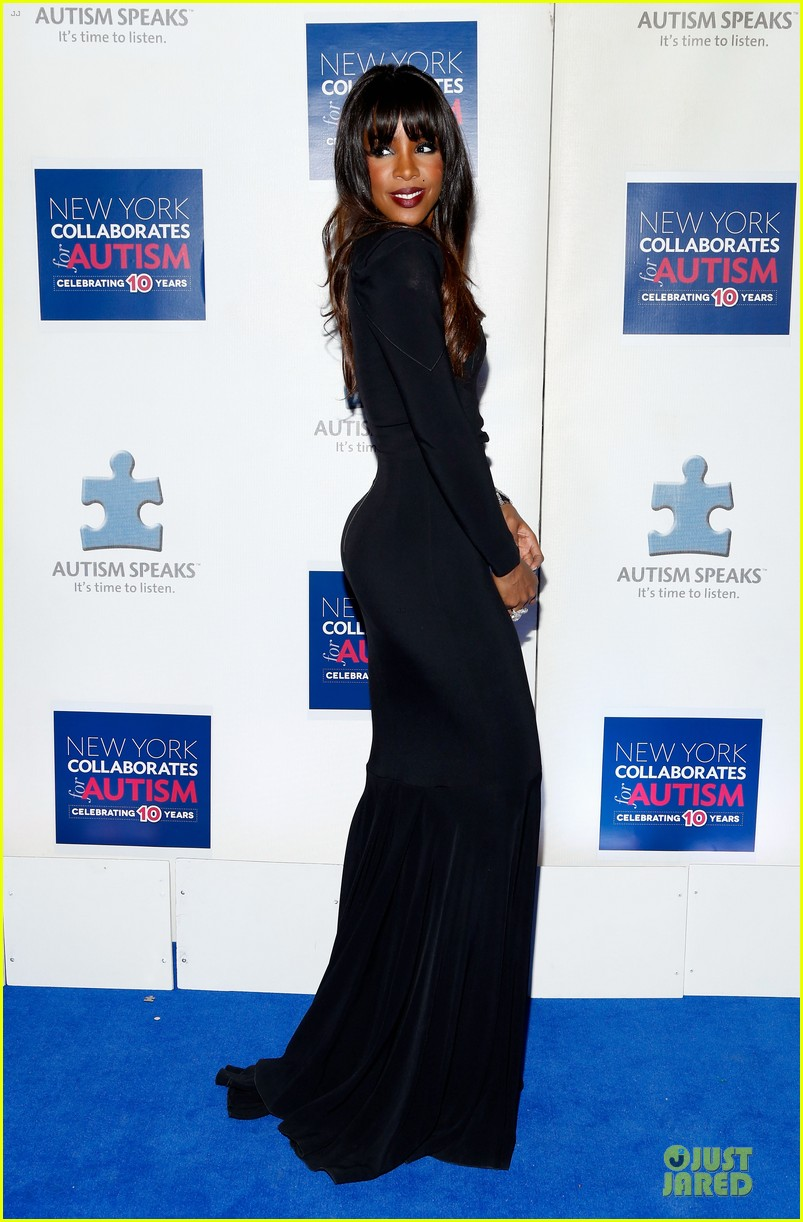 allison williams kelly rowland winter ball for autism 07