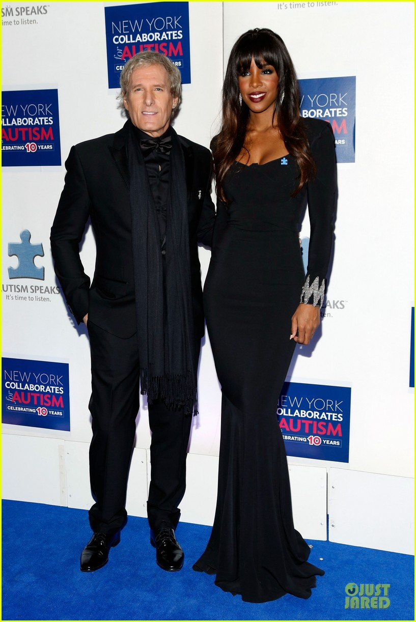 allison williams kelly rowland winter ball for autism 10