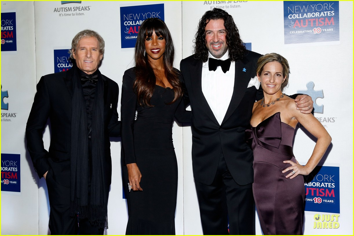 allison williams kelly rowland winter ball for autism 15