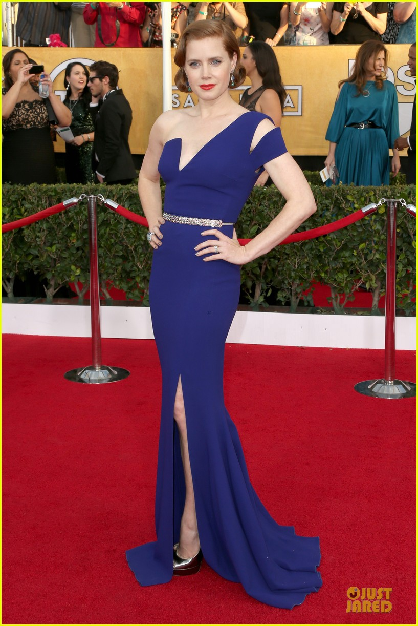 amy adams sag awards 2014 red carpet 01